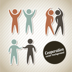 cooperation icons