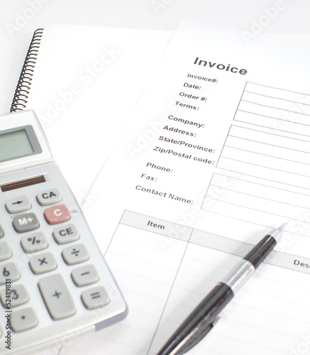 Business Document Invoice