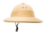 Safari hat isolated on the white