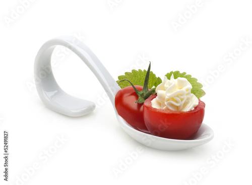 stuffed cherry tomato(appetizer)