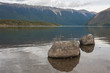 boulders on lake Rotoiti