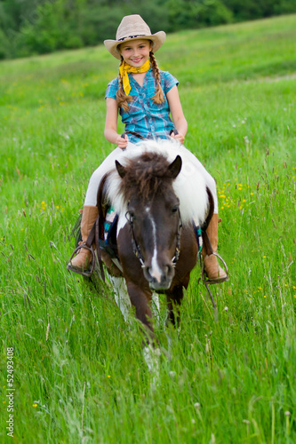 Horse and lovely equestrian girl.