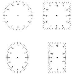 set of dials