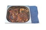 eingelegter Schweinekamm - Grillsteak