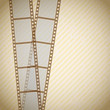 retro filmstrip background