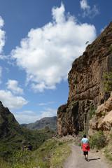 Wandern bei Soria, Gran Canaria