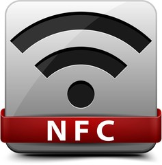 NFC (Near field communication) button