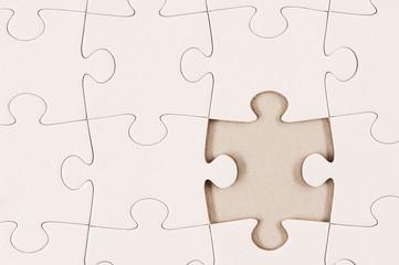 Plain White Jigsaw Puzzle 2