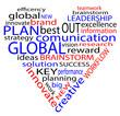 Concetto di affari creato con il testo racchiuso in un cuore