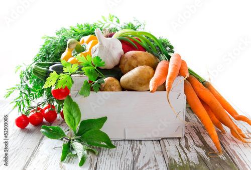 Fototapety, obrazy : Fresh vegetable