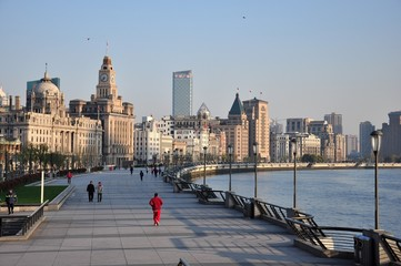Der Bund in Shanghai China