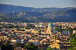 Panoramic view on Florence, Italy