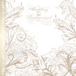 Elegant wedding background for design