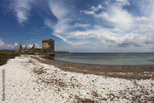 Sardynia-słoneczna plaża