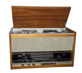 Ancient radio receiver