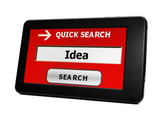 Search for idea online
