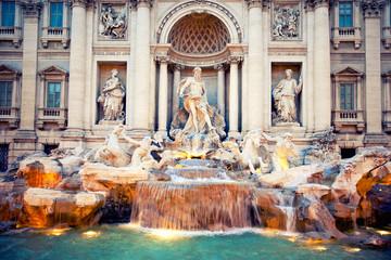 Fontain Trevi, Rome, Italy