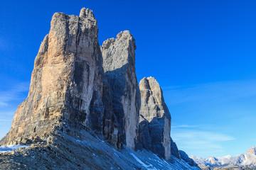 Drei zinnen Mountain Peaks