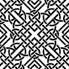 Celtic seamless pattern