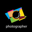 Vector logo photographer