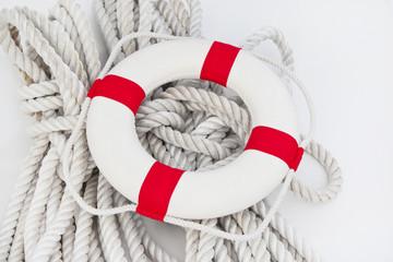 Maritime Dekoration - Rettungsreifen