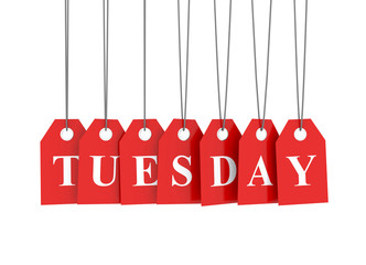 Tuesday discount red etiquettes