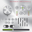 Multimedia user interface set - graphic design element