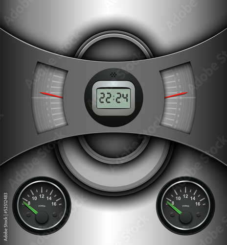Abstract background, technology design