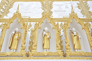 The Monk Molding Wall
