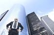 businessman standing