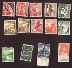 Alte Briefmarken / Winterhilfswerk / Deutsches Reich