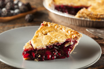 Homemade Organic Berry Pie