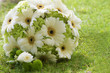 wedding bouquet on natural background