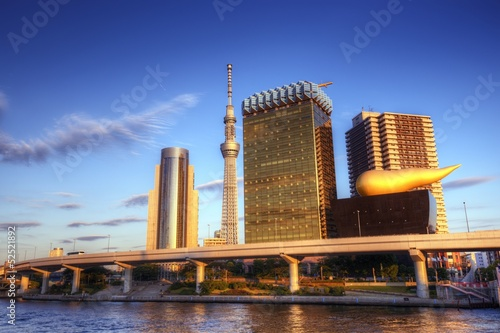 Tokyo at Sumida River