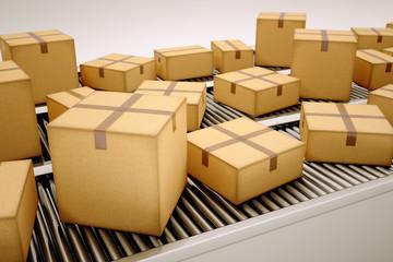 Package sorting.