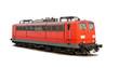 Leinwandbild Motiv German railways' electric locomotive class 151 isolated on white