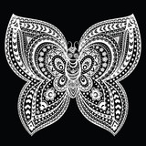 Beautiful butterflies seamless