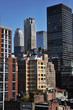 Rooftop view to upper east side manhattan New York NY