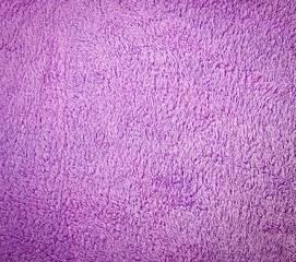 Purple terry cloth background
