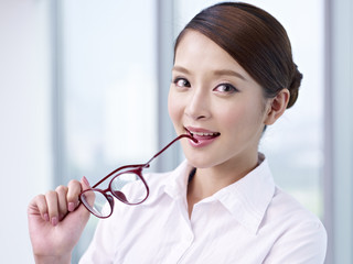 portrait of asian businesswoman
