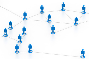 Business network.