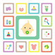 icon for baby