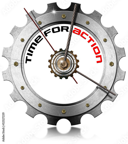 Time for Action - Metallic Gear