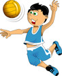 kid volleyball