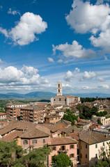 Perugia - Veduta sulla basilica di San Domenico