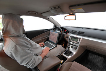 car computer crime