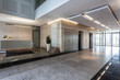 Leinwandbild Motiv Office building
