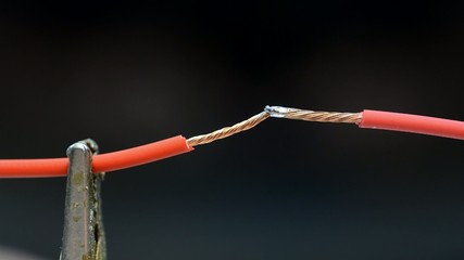 Soldering two Copper Wires Together