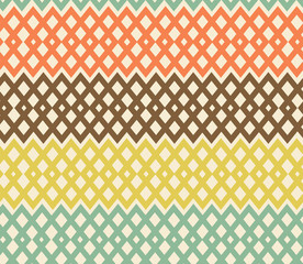 Geometric colorful seamless pattern