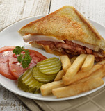 Ham Or Turkey Sandwich